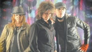 "The Kelly Richey Band of Cincinnati is touring nationally in support of its new album, Sweet Spirit, which is scheduled to be released in early March. The tour will stop at Summit City in Whitesburg on Saturday (Feb. 23). Joining guitarist Richey (center) in the blues-based rock band are new drummer Jyn Yates (left), a native of Columbia, Ky., and new bassist Chris Sherman, who is known professionally as ""Freekbass"" and is considered among the top ""funk bassists"" performing today."