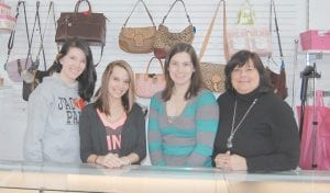 Pictured from left are employees Sara Estep, Katie Caudill, Annie Campbell and owner Debbie Campbell.