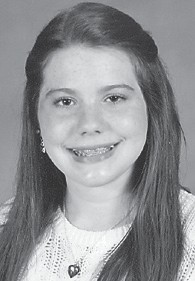 — Jessica Danielle Boggs celebrated her 12th birthday Feb. 22. She is the daughter of Marvin and Malinda Boggs of Cowan, and granddaughter of Omera Lee and Christine Isaac of Jackhorn, and Cassel and Opal Boggs of Cowan. She is a member of the Whitesburg Middle School girls' basketball team, WMS cheerleading squad, and WMS volleyball team, and has advanced to the state speech competition this month at the University of Kentucky. She has three older brothers, Matthew, 19, a freshman at Eastern Kentucky University; Joshua, 18, a junior at Letcher County Central High School, and Tyler, 13, a student at Whitesburg Middle School.
