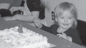 — Maggie Kaidence Pratt celebrated her second birthday on March 1. She is the daughter of Steven and Elizabeth 'Beth' Pratt, and the granddaughter of Steven and Barb Pratt and Benjie and Dana Smith.