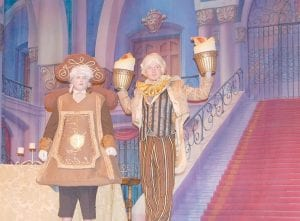 QUITE THE PAIR — Joshua Stephens landed the role of Cogsworth and James Craft III was cast as Lumiere.