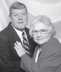 — Bobby James and Anis Caudill Ison of Jeremiah will celebrate their 60th wedding anniversary on March 21. He is formerly from Linefork, and she is formerly from Whitco.