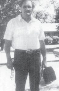 Everett Vanover is pictured coming home from Syar Industries, where he worked until he was 81 years old managing a printing company in Napa, Calif.