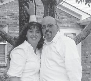 Pictured are the late Tony Howard and wife Gina of Nicholasville. He died in December. He was the son of Hubert Howard of Whitesburg.