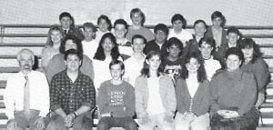 Pictured is the 1990 Whitesburg High School academic team.