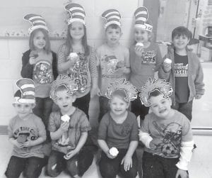 These West Whitesburg Elementary students donated two or more items to the Food Pantry and earned cupcakes for their efforts. Pictured are Jauna McElroy, Caiden Brock, Sam Adams, Ella Ison, Devon Blair, Nate Adams, Caden Combs, Jaleigh Wright and Avery Mullins.