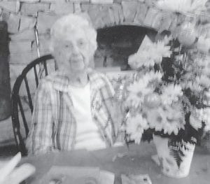 Elsie Banks celebrated her 98th birthday March 28 with a dinner with family and friends at Pine Mountain Grill.