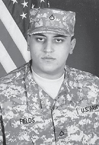 PFC Sidney Fields of Alpha Company 3-10, 2nd Platoon, Fort Leonard Wood, Mo., completed basic training April 4. He is a graduate of Letcher County Central High School and is the son of Janet Fields of Whitesburg and the brother of Tyrone Fields and Amber Fields.