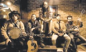 Pictured above is Gangstagrass, the group behind the theme song to the TV show 'Justified.' The band will appear Friday at Summit City in Whitesburg. Appearing at the venue Saturday is Old Southern Methodist Moonshine Revival, a band said to blur the line between country music and Southern rock band Lynyrd Skynyrd.