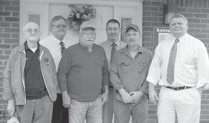 Members of the Letcher Conservation District's Board of Directors are, from left, Billy K. Banks, Ron Brunty, Jim McAuley, Randy Bailey, Tom Dollarhide and Tex Isaac.