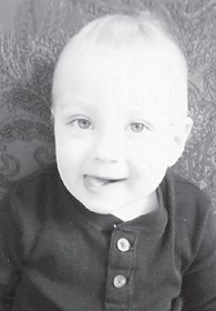 — Gaston Webb Jr. turned two years old on April 27. He is the son of Angela Jones and Gaston Webb, both of Whitesburg, and has a sister, Lily Webb, 5 months. His grandmothers are Brona Webb Holbrook of Mayking, and Irene Johnson of Tyron, N.C.
