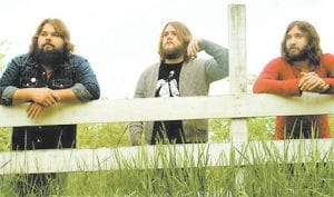 """BUFFALO KILLERS (above) were formed in Cincinnati in 2006. They have toured with The Black Crowes and The Black Keys, whose singer and guitarist Dan Auerbach produced the trio's album """"Let It Ride."""" Buffalo Killers have been compared favorably to rock bands ranging from Mountain to the Rolling Stones and count legendary rocker Alice Cooper among their fans . Cooper says of the band, """"Buffalo Killers definitely have a cool Joe Walsh/James Gang influence in their sound. I dig 'em."""" Buffalo Killers will perform at Summit City in Whitesburg on Saturday, May 18."""