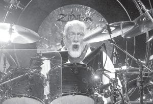 Drummer Mick Fleetwood (above) formed Fleetwood Mac with bassist John McVie in England in 1967. The band performed in Louisville in April. (AP photo)