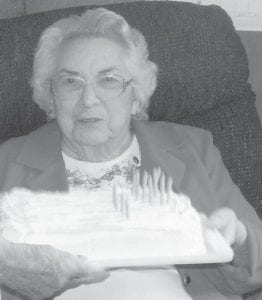 Virginia Brown recently celebrated her 94th birthday.