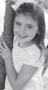"""Madison Layne Caudill turned seven years old May 9. She celebrated her birthday with a Big Time Rush party at the recreation center. She is the daughter of David 'Tiny"""" and Holly Caudill of Isom, and the granddaughter of Linda Breeding of Isom and the late Roger Breeding, and Gary and Katie Caudill of Blackey. She has an older sister, Emily Grace, 10."""