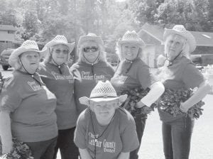 The Letcher County Senior Dance Team (pictured above) performed as Elder Abuse Awareness was recognized May 29 at the Letcher Manor Nursing and Rehabilitation picnic area. Staff members grilled food and hosted music and games for members of the Letcher County Senior Citizens Center. Attending the event were Adult Protective Services Representative Belinda Boggs, Letcher County Senior Citizens Director Trenda Kincer and staff, Regional Ombudsman Sheila Cornett, and Assistant Judge/Executive Eddie Meade. Elder Abuse Awareness Day is June 15.