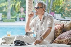 """Danny Huston is photographed in a scene from the second season of the series """"Magic City,"""" set in Miami, Fla. The second season, which premiered June 14, is airing Fridays at 9 p.m. on Starz. (AP Photo)"""