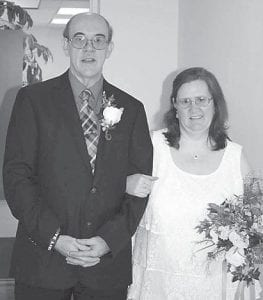 Paul and Adrienne Sturgill of Cromona, celebrated their 25th wedding anniversary with a vow renewal ceremony followed by a reception on June 22 at the Neon First Church of God. The ceremony was performed by Pastor Mark Wagoner, and those in attendance enjoyed food including a cake made by Paul Sturgill's sister, Selena Smith. The couple expressed their thanks to those who made the day so wonderful.