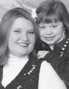 Kathy Hatton Nelson of Alabama, daughter of Jeanette Mullins and Astor Hatton of Georgetown, is pictured with her daughter, 14-year-old Caroline Nelson. She is also the daughter of Chris Nelson. Whitesburg correspondent Oma Hatton says she is a proud grandmother and greatgrandmother.