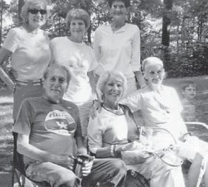 The Lucas family reunion was held June 8 in Somerset. Pictured are the children of Edgar and Julia Lucas, Sheila, Jolene, Coetta, Neal, Claudette and Loretta.