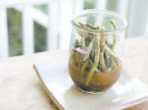Green beans (and other vegetables) are easy to pickle. (AP)