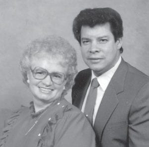 Luis and Beulah Caban were married August 9, 1963, and are celebrating their 50th wedding anniversary. The live in Sylmar, Calif. She is the daughter of the late Tip and Annie Delph, formerly of Marlowe.