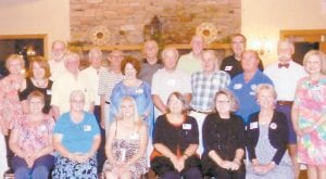 The Whitesburg High School Class of 1968 recently celebrated its 45th class reunion.
