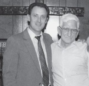 Pictured are two good friends and good preachers, Bro. Conard Profitt and the late Bill Howard.