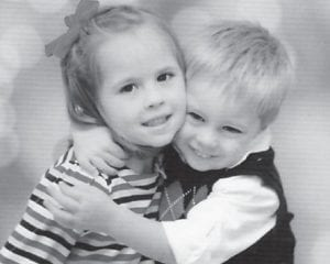 Anna and Eli Hatton are the children of Julie and Jamie Hatton. Their grandparents are Sandra and Bill Hatton, and great-grandparents are Maggie Cook and Oma Hatton.