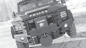 This photo from Lenco shows a Lenco BearCat G3.
