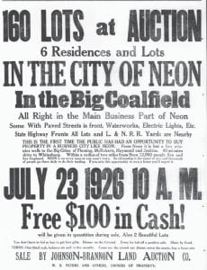 This ad from July 1926 shows Neon was still growing after 12 years.