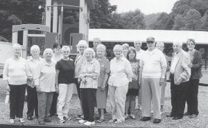 Pictured are members of the Ermine Senior Citizens Center.