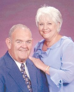 The family of Gerald and Jackie Frazier of Whitesburg will host a celebration of their 50th wedding anniversary on Saturday, January 25. The celebration will be held from 1 to 3 p.m. at the Graham Memorial Presbyterian Church Fellowship Hall in Whitesburg. No gifts please. Your presence is the best gift.