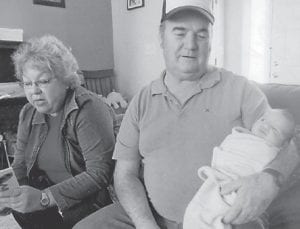 Billy and Sandra Hatton are pictured with their nephew, Daniel Hill, son of Rocky and Matt Hill.