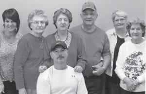Pictured are Pearl and Charles Noble and their daughters, Jennifer Holbrook and husband David, and Linda Hall, and Dorthy Tacket and daughter Jeanette Yonts.