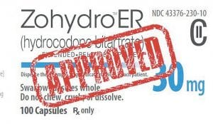 The sale of the powerful narcotic ZohydroER began this week.