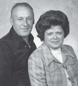 Pictured are the late Burchel and Norma Napier in 1988, Marlowe friends of Whitesburg correspondent Oma Hatton.