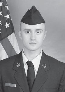 Air Force Airman Adam W. Huff completed basic training at Joint Base San Antonio-Lackland, San Antonio, Tex. The eight-week program includes training in military discipline and studies, Air Force core values, physical fitness, and basic warfare principles and skills. Huff earned four credits toward as associate in applied science degree through the Community College of the Air Force. He is the son of Paula and Terrence Huff of Cumberland, and is a 2013 graduate of Harlan County High School.