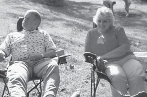 "Astor ""Red"" Hatton and wife Rosemary are pictured at a Howard family reunion a few years ago."