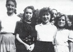 The late Ann Miller, Mildred Necessary, Linda Pennington, Betty Sue Howard and (back) James Howard were all Marlowe kids. Now all are grandparents except Linda Pennington Hall.