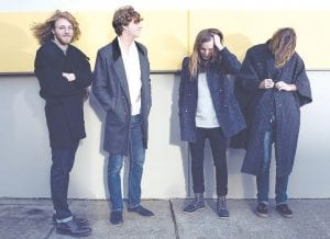 TO PLAY APRIL 8 — Desert Noises, a rising band from Utah, will perform in Whitesburg Tuesday.