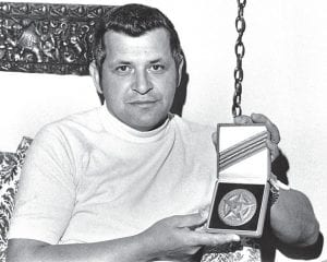 On April 16, 1970, Francis Gary Powers held the CIA's coveted Intelligence Star for Valor medal he received as a result of surviving the May 1, 1960, U-2 spy plane crash, after which he was captured and later tried and convicted by the Soviets for espionage. Only a very few people have received the award. In 1998, Powers posthumously received the CIA's Director's Medal in addition to the Prisoner of War Medal, Distinguished Flying Cross and National Defense Service Medal. In 2012, Powers was posthumously awarded the Silver Star. (AP Photo)