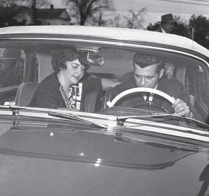 By March 1962, U-2 spy plane pilot and Letcher County native Francis Gary Powers was back home in the United States after being exchanged for Soviet KGB Colonel Vilyam Fisher in Berlin, Germany. After resting at the home of his parents in nearby Pound, Virginia, Powers and his wife, Barbara, were taken to a secret hideaway for a while before Barbara turned up at the home of her mother in Milledgeville, Georgia. The photo above taken March 14, 1962, shows the couple leaving for some privacy after a meeting which was arranged in Rome, Georgia, by Pepsi-Cola plant owner George E. Hunnicutt, a friend of Powers. (AP Photo)