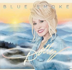 The cover of 'Blue Smoke,' Dolly Parton's latest album. (AP)
