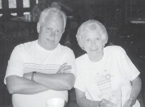 Carol and Edsel Baker attended one of the Hatton family reunions at the Cowan Community Center.
