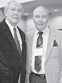 JACK BURKICH, PRINCIPAL (1957-79) and FRANK BICKEL, BAND DIRECTOR (1960-65)