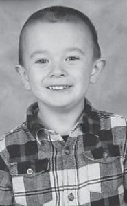 FIVE YEARS OLD — Collin Cruz Eversole celebrated his fifth birthday on June 16. He is the son of Fredrick and Tiffany Eversole of Pikeville.