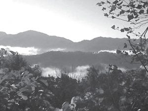The top of Pine Mountain offers views second to none and would help bring tourists to Letcher County if properly marketed, says letter writer Helen Ayers, a former Letcher County resident. (Photo courtesy Debbie Hodson)