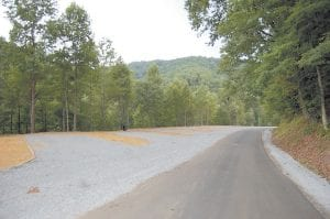 A recreational vehicle park is being created at Fishpond Lake. Water and electricity will be available at each RV parking spot. The project is set to be completed in four weeks, Letcher County Judge/Executive Jim Ward said.