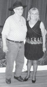 Carl Parrott was named the Ermine Senior Citizens Center King of the 2014 seniors prom, and Debbie Miranda Bradley was named Queen.